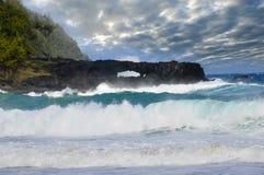 Hawaii Coastline Stock Photo