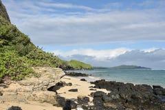 hawaii Costa suroriental de la isla de Oahu fotografía de archivo