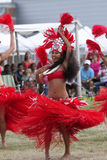 Hawaii dancer - Festival indian native Royalty Free Stock Photography