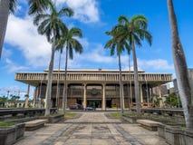 Hawaii delstatsparlament Arkivbild