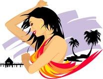 Hawaii girl Royalty Free Stock Photos