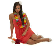 Hawaii Girl Royalty Free Stock Image