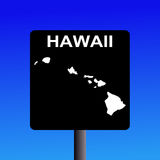 Hawaii highway sign Stock Image