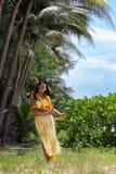 Hawaii hula dancer Stock Images