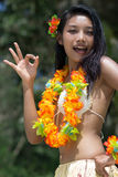 Hawaii hula dancer Royalty Free Stock Photography