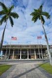 Hawaii huvudstadbyggnad. Arkivbilder