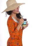 Hawaii-Insel-Strand-Mädchen Lizenzfreies Stockbild