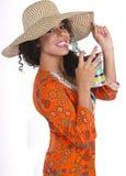 Hawaii Island Beach Girl Royalty Free Stock Photo