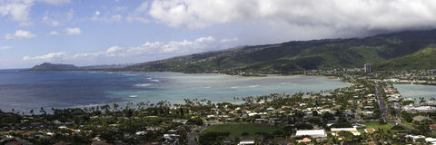 Hawaii Kai en Oahu Hawaii imagen de archivo