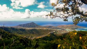 Hawaii Kai Landscape imágenes de archivo libres de regalías