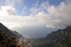 hawaii kalalau Kauai dolina Zdjęcia Stock