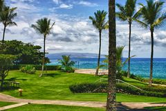 Hawaii-Landschaft Stockfoto