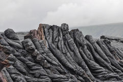 Hawaii lava royaltyfria bilder