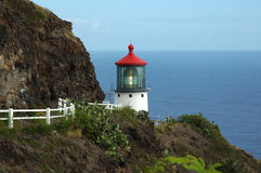 Hawaii lighthouse Royalty Free Stock Photos
