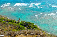 Hawaii lighthouse Stock Image