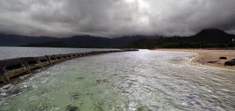 hawaii linia brzegowa Zdjęcia Royalty Free
