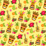 Hawaii Luau background Royalty Free Stock Images