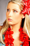 Hawaii-Mädchen Lizenzfreie Stockfotos