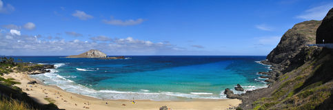 hawaii makapu Oahu u zdjęcie stock