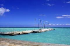 Hawaii Marina. A small marina in Hawaii Royalty Free Stock Image