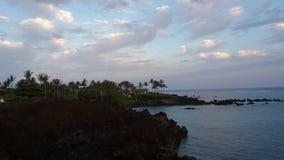 Hawaii Morning. A nice morning view in Hawaii Stock Photography