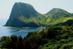 Hawaii mountains royalty free stock photography