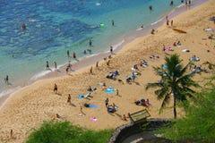 Hawaii na plaży obrazy royalty free