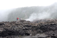 hawaii nationalparkvolcanoes Royaltyfri Foto