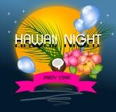 Hawaii night Royalty Free Stock Image