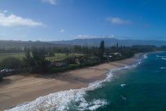 Hawaii norr kust Oahu Royaltyfri Fotografi