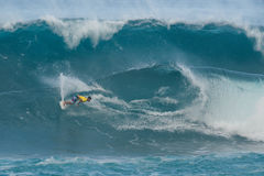 Hawaii North Shore surfing Royalty Free Stock Photography