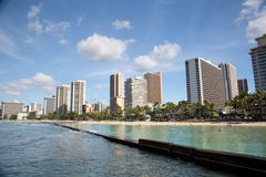 Hawaii - Oahu imagenes de archivo