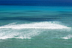 Hawaii Oahu hanauma bay view Royalty Free Stock Images