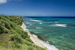 Hawaii Oahu hanauma bay view Stock Photo