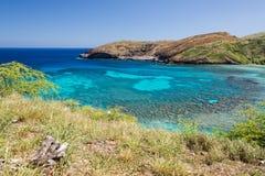 Hawaii Oahu hanauma bay view Stock Photography