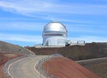 Hawaii observatory Royalty Free Stock Photo