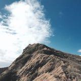 Hawaii-Pillenschachtel-Wanderung Stockfotos