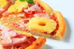 hawaii pizza obrazy royalty free