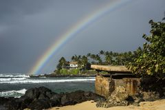 Hawaii Rainbow stock image