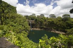 Hawaii Rainbow Falls Royalty Free Stock Images