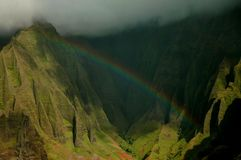 Hawaii Rainbow, Kauai Royalty Free Stock Photos