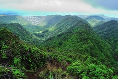 Hawaii Ridge Hike Royalty Free Stock Image