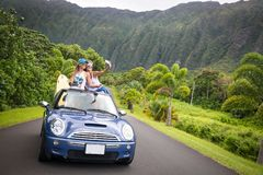 Hawaii Road Trip Royalty Free Stock Images