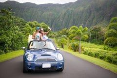 Hawaii road trip stock photo