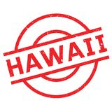 Hawaii rubber stamp Royalty Free Stock Photo