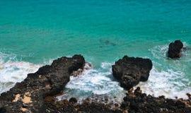 Hawaii Shoreline Royaltyfria Bilder