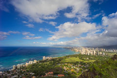 Hawaii-Skyline Lizenzfreies Stockfoto