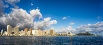 Hawaii skyline Royalty Free Stock Photography