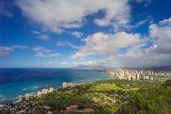 Hawaii skyline Royalty Free Stock Photo