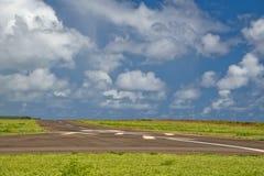Hawaii small airport. Tropical island hawaii small airport Royalty Free Stock Images